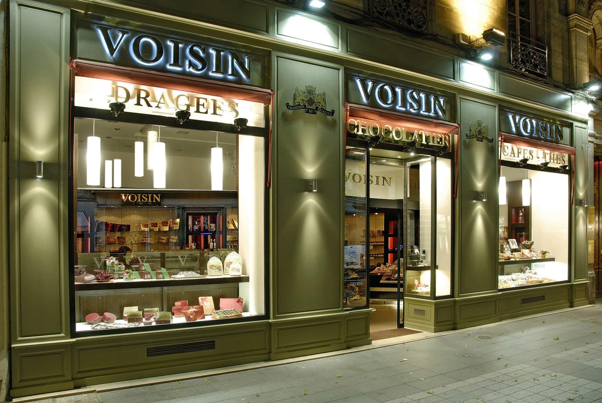 Nos Magasins Boutique Voisin Chocolatier